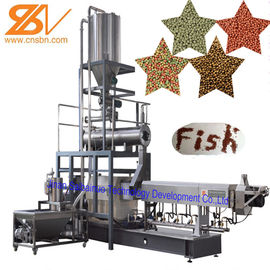 China Large Capacity Cat Fish Feed Extruder Machine Production Line 58-380 kw Power supplier