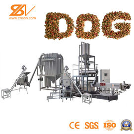 Food Extruder Machine Dry Kibble Poultry Extruder For Pet Food Processing Machine