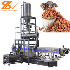 Puffing Snack Dry Kibble Dry Dog Food Making Machine 380v / 50hz