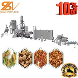 China Puffing Snack Dog Food Manufacturing Equipment SUS201 / SUS304 Grade supplier