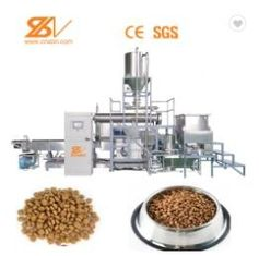 Tilapia Fish Feed Production Machine , Floating Fish Feed Processing Line