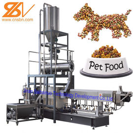 Automatic Pet Food Extruder , Twin Screw Extruder Machine 380v / 50hz