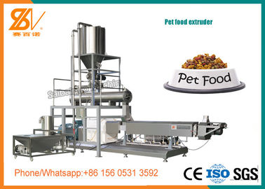 China Animal Feed Pet Food Extruder Different Capacity Large Scale CE Certification distributor