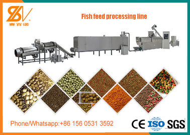 Good Quality Feed Extruder Machine & Floating And Sinking Fish Feed Pellet Machine / Fish Food Processing Machine on sale