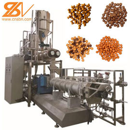 China SLG85 Dry Dog Food Manufacturing Equipment 2-3t/H  BV Certification factory