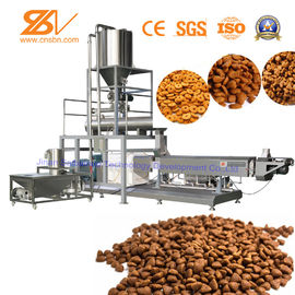 China Animal Dog Food Machine Dry Pet Food Production Line CE Certification distributor