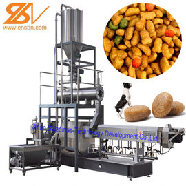 China 100kg/H-6t/H Dry Kibble Dog Food Manufacturing Machine Extruder Production Line distributor