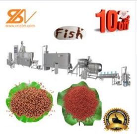 Good Quality Feed Extruder Machine & Floating Fish Feeding Equipment Forced Lubrication System BV Certification on sale