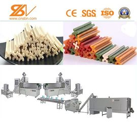 Good Quality Feed Extruder Machine & Dog Treats Machine Production Line Kibble Pet Chews SGS Certification on sale