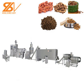 Good Quality Feed Extruder Machine & Dry Automatic Animal Feed Processing Machine / Production Line Long - Life on sale